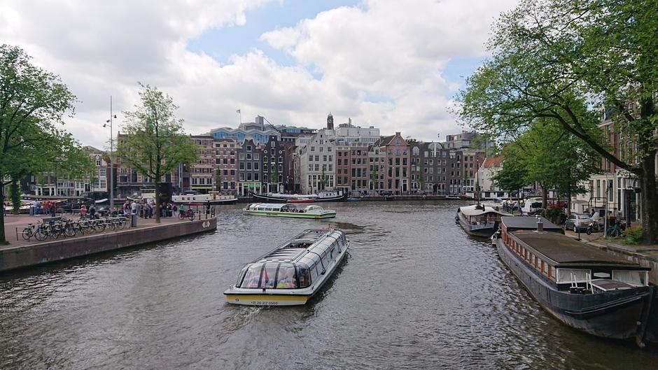 Aan de Amstel in Amsterdam