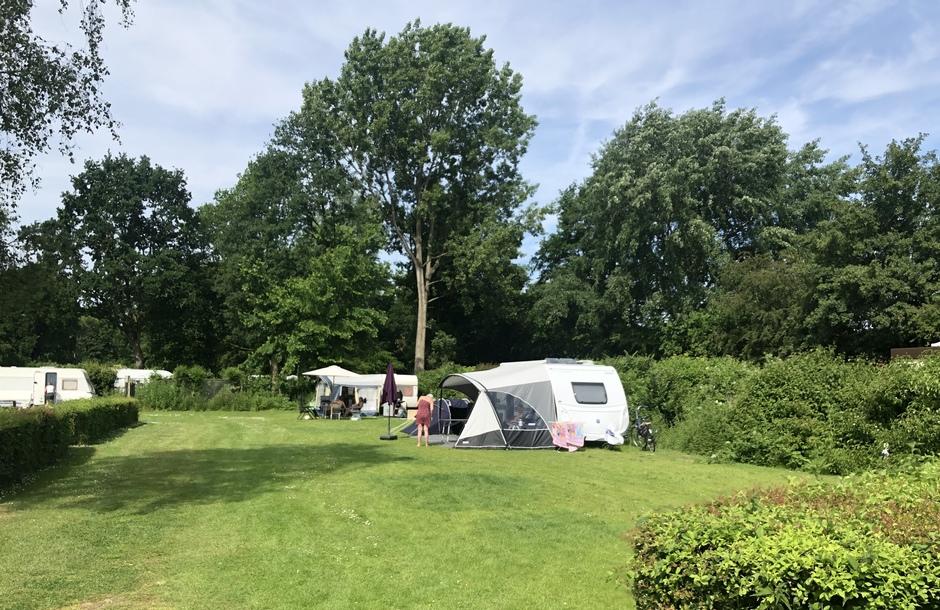 Sluiers boven de camping