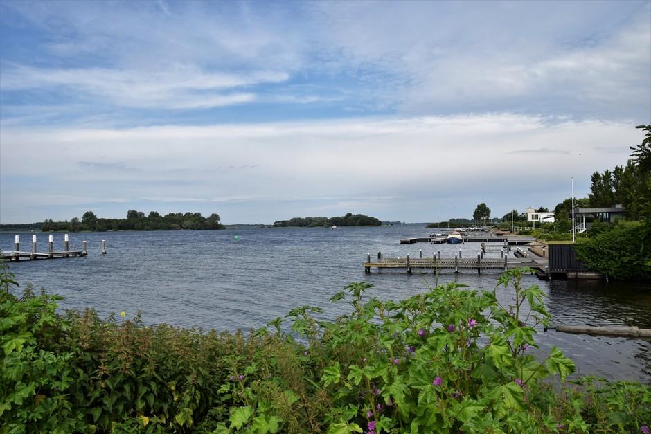 uitkijk op het Veerse meer