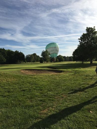 Balloons land on Romford Golf Club