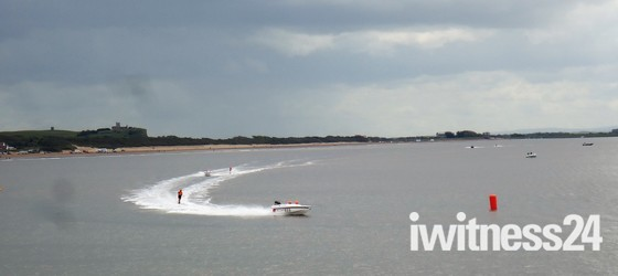 Water Skiing.