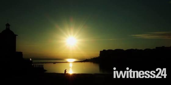 sun down