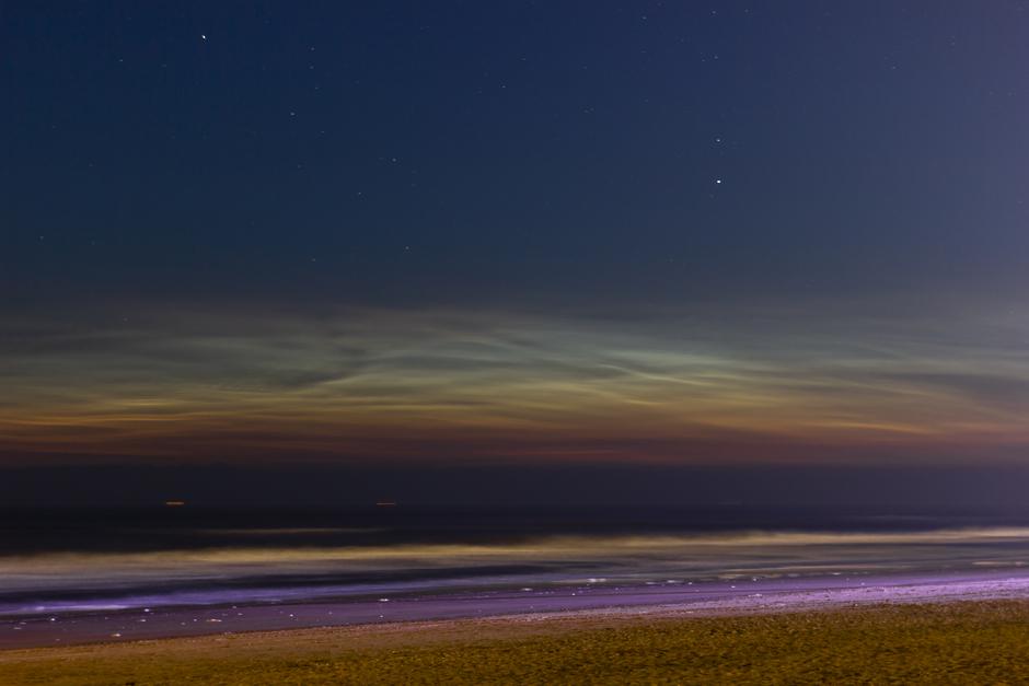 Noctilucent wolken