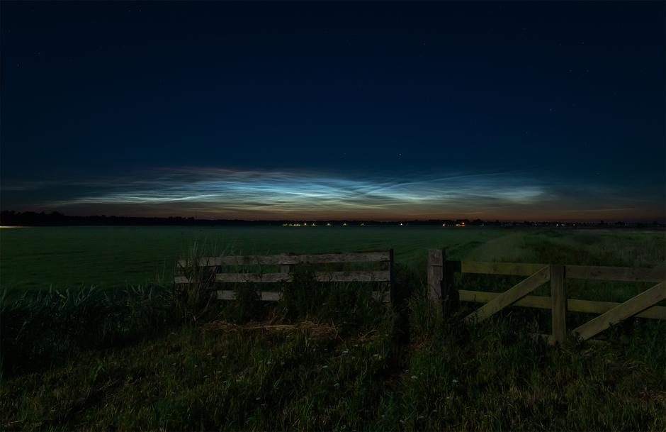 Lichtende Wolken