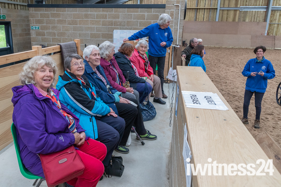 Visit to Riding for the Disabled (RDA)