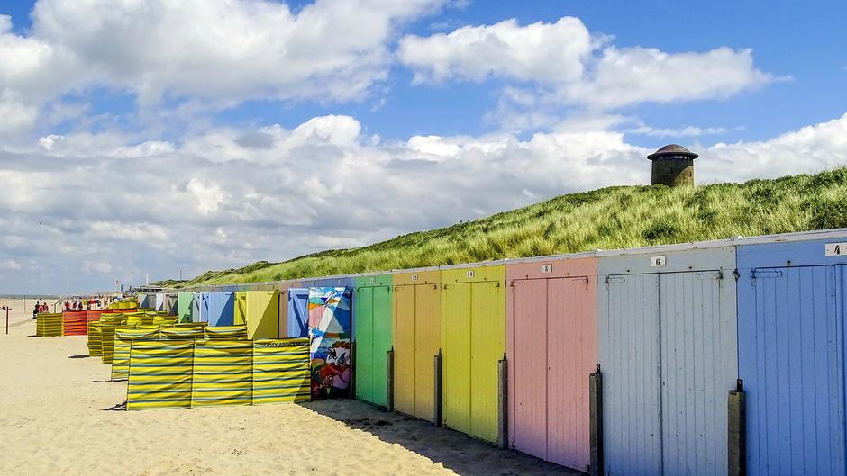 zon en strand windschermpjes