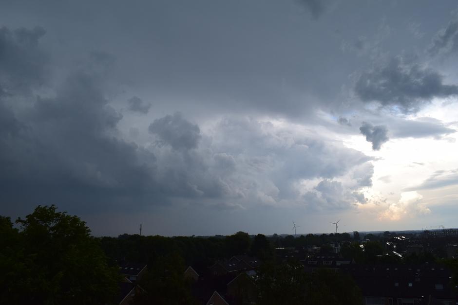 Wolken boven Veenendaal