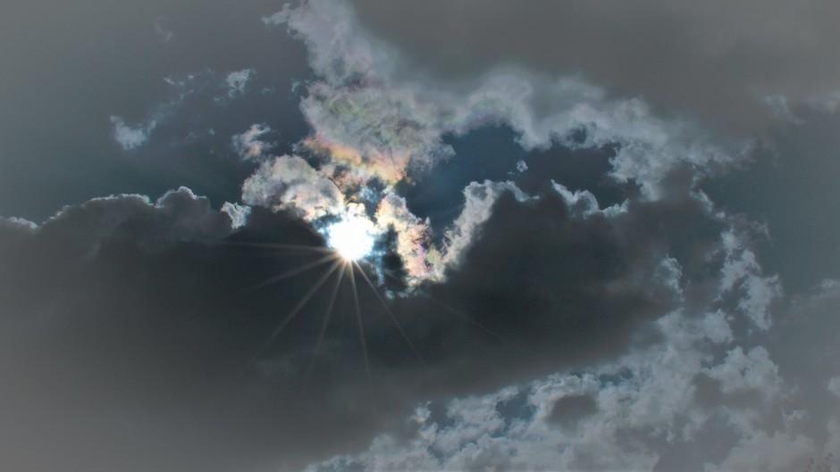 Bewolkt met af en toe ook een beetje zon