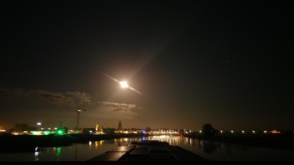 Mooie heldere nacht