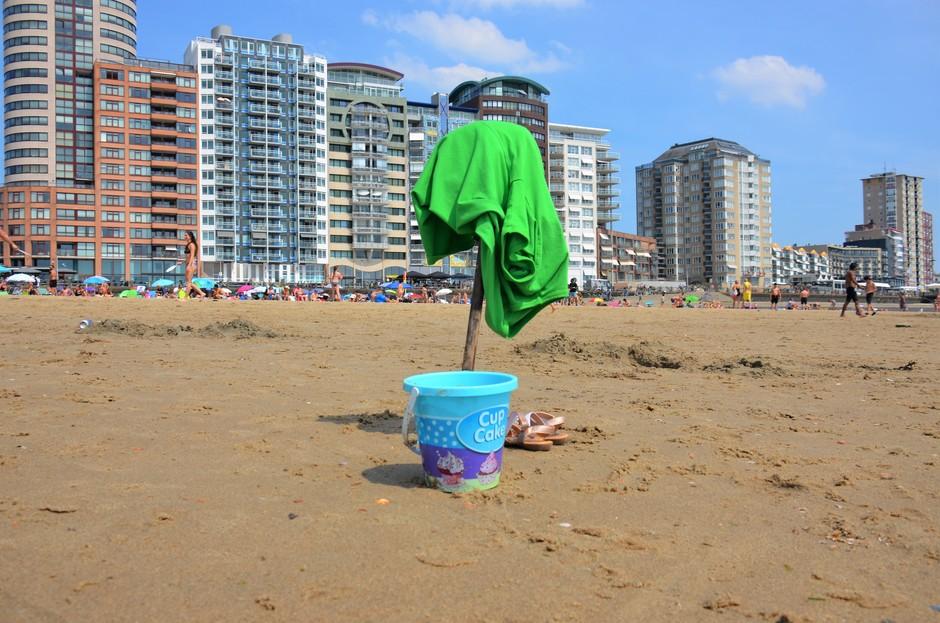 Verkoeling aan het strand