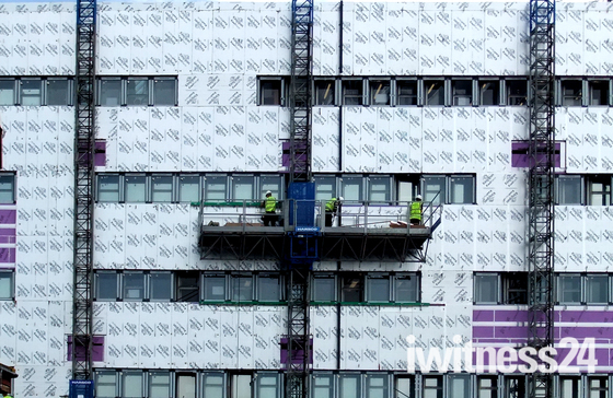 Cladding Lowestoft College