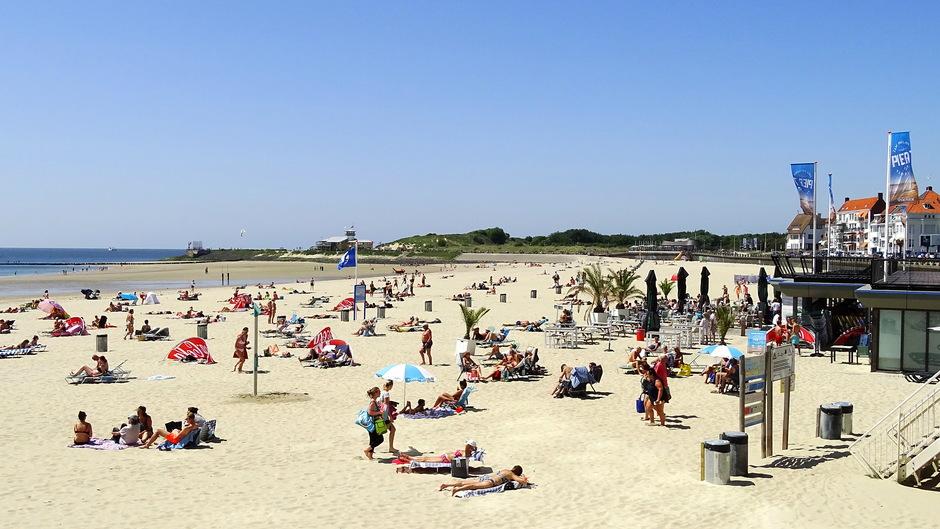 aangenaam strandweer