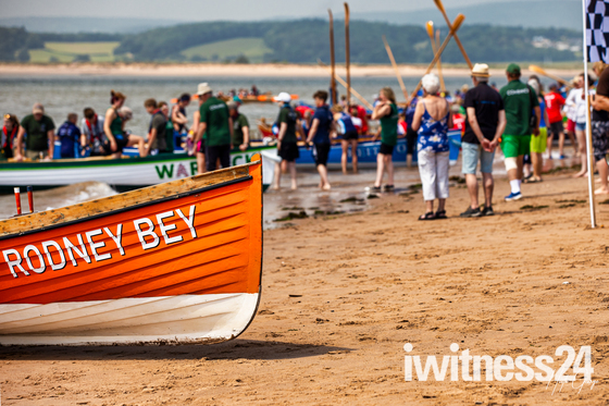 The second Exmouth Gig Rowing Club Regatta