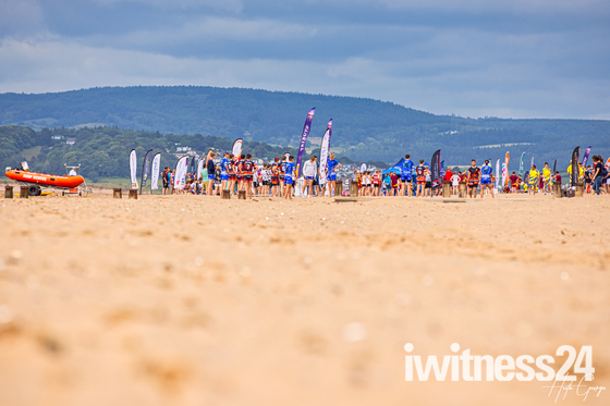 The South West Beach Rugby Tournament on Exmouth Beach