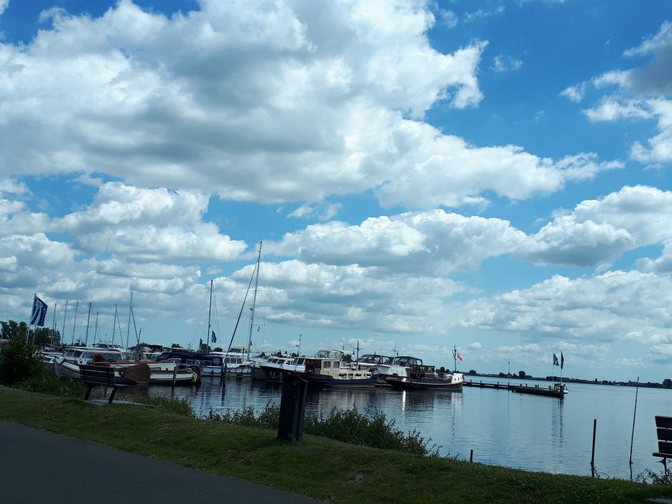 zon, wolken,  Braassemmermeer