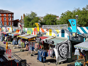 Colourful Norwich City Market
