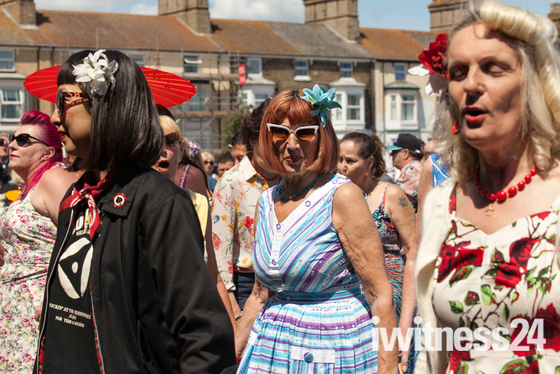 Wildest Cats on the Royal Green Lowestoft today Sunday 7th July 2019