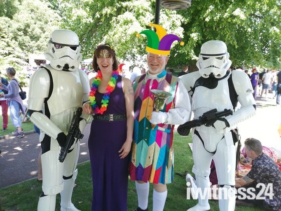 Exmouth Pride - Jolly Roger with Stormtroopers