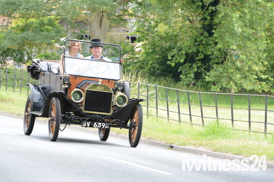Whatfield Vintage Vehicle Road Run