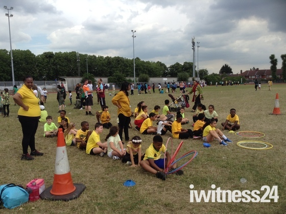 Eastbury Primary School Sports Day
