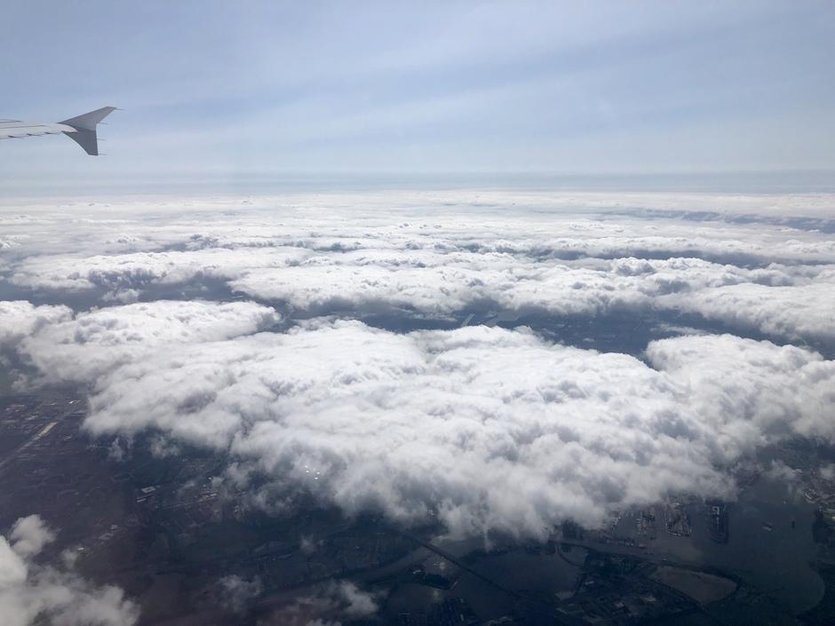 Boven de wolken in Broek in waterland