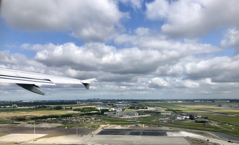 Schiphol Hollandse wolkenlucht