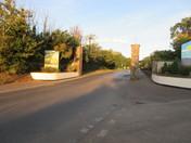 Sandy Bay Holiday Park entrance