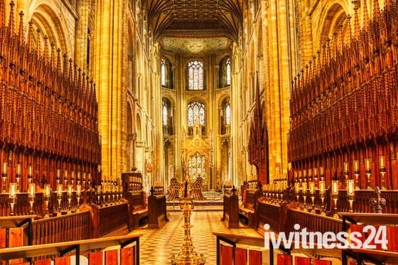 Interior Peterborough Cathedral