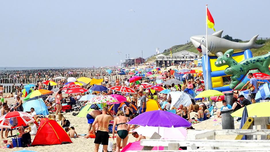 zon en strandweer