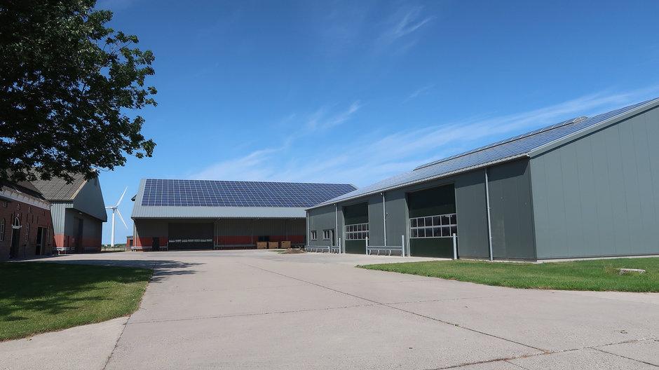 Prima dag voor de zonnepanelen die steeds meer ook de boeren voorzien van eigen stroom