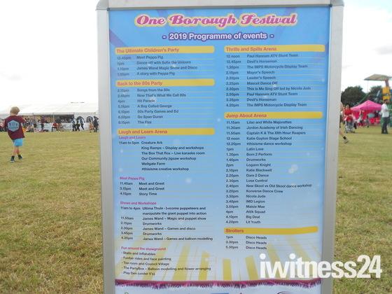 One Borough 80s Pop Festival