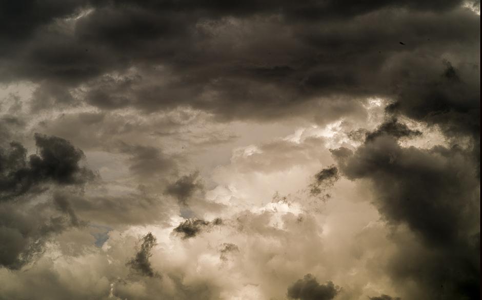Zo woest kan de hemel eruit zien......