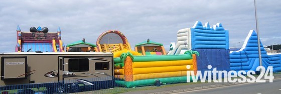 Inflatable Skyline