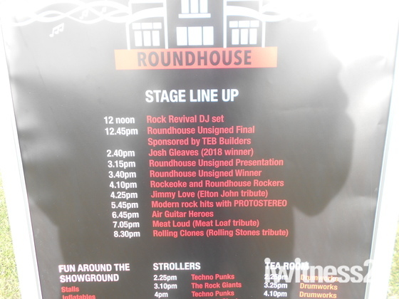 2019 Roundhouse Free Music Festival