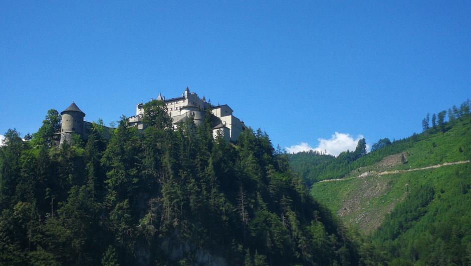 Bijna strakblauw in Oostenrijk