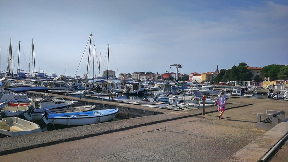 Ook nog steeds heet en mooi vaarweer in Istrië