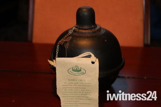 tumble Lamp