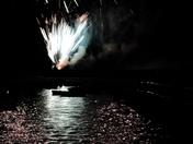 Lyme Regis Carnival Opening Fireworks