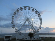 Exmouth Observation Wheel (from outside the Pavilion Gardens)