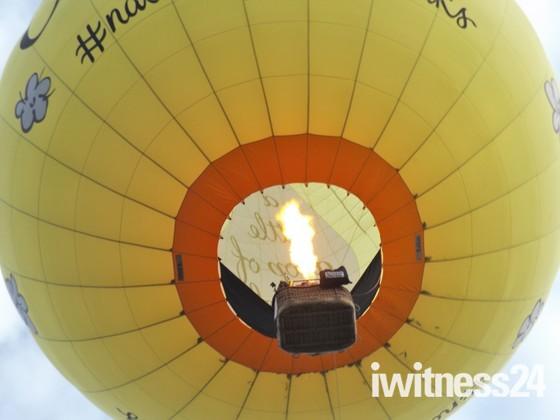 Ballooning.