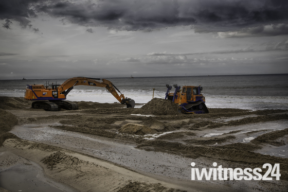 Walcott Sea Defences