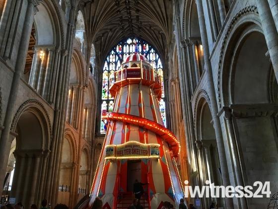 Cathedral helter skelter