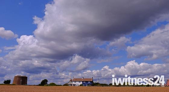 Big Suffolk skies - Shingle Street