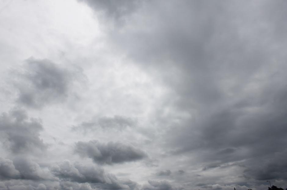 Bewolkte lucht
