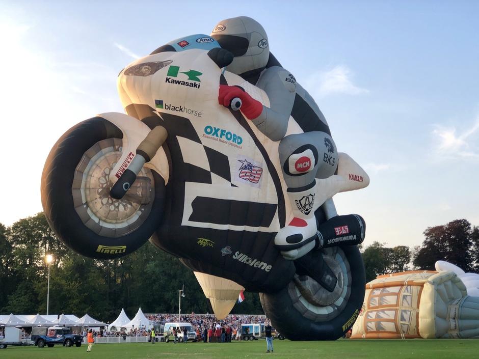 Ballonfiesta Barneveld - een gigantische motor