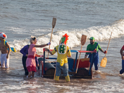 Sidmouth Regatta Raft Race 2019