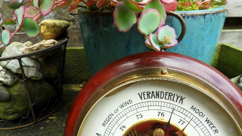 """Barometer """"valt"""""""