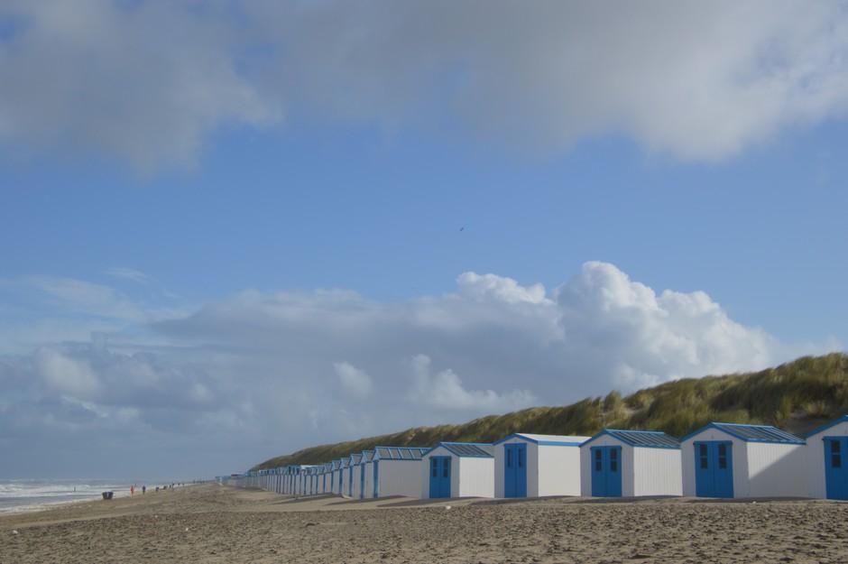 strand in de zon