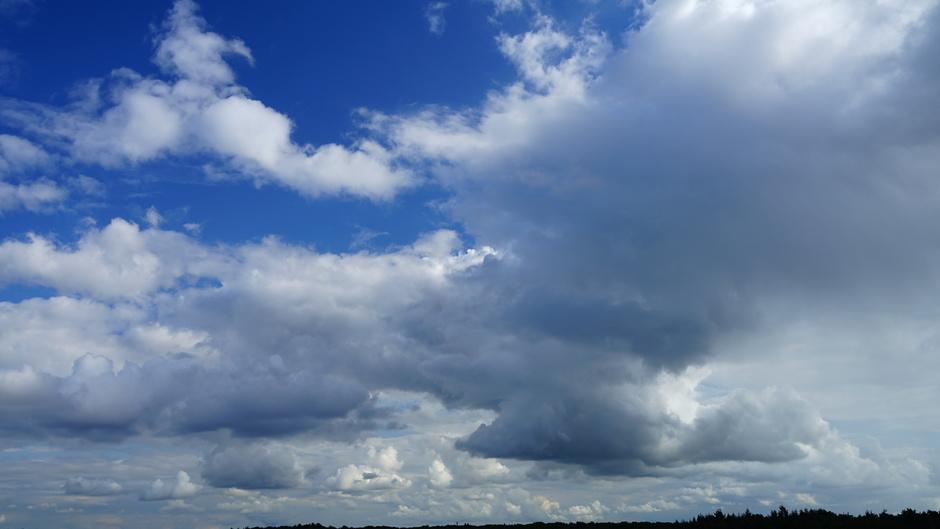 Stevige wolkenluchten