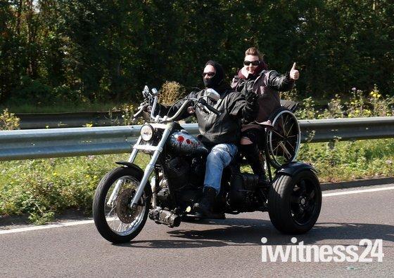 Essex Air Ambulance Fun Motorbike Ride to Harwich Green